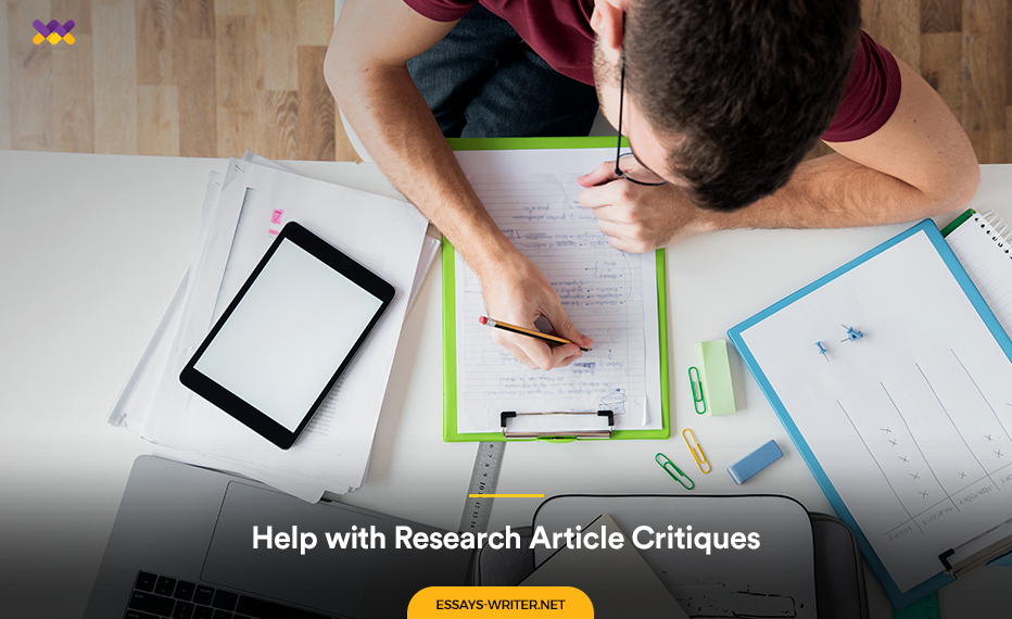 Writing Help with Research Article Critiques