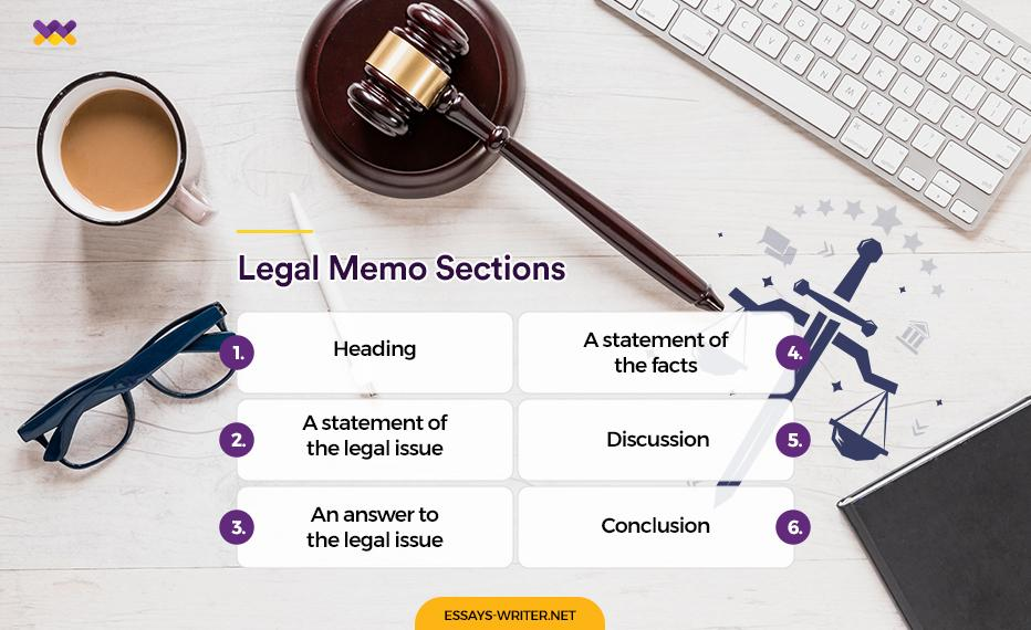 Legal Memo Sections