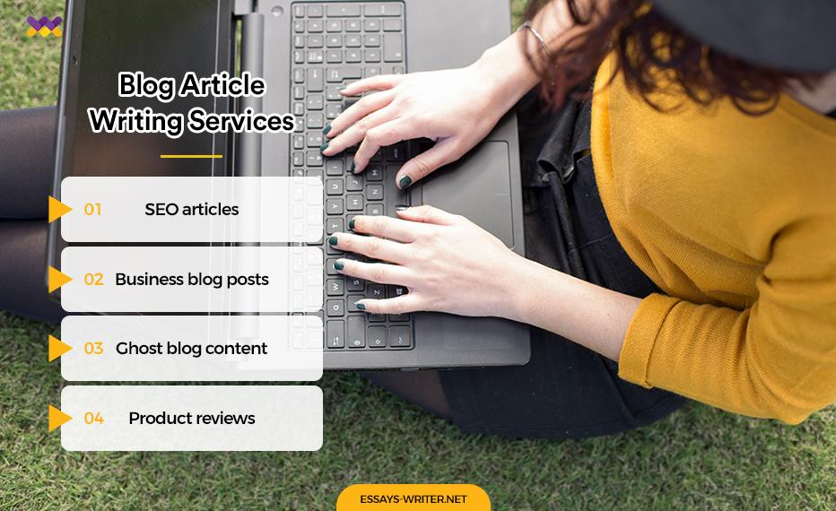 Blog Article Writing Services