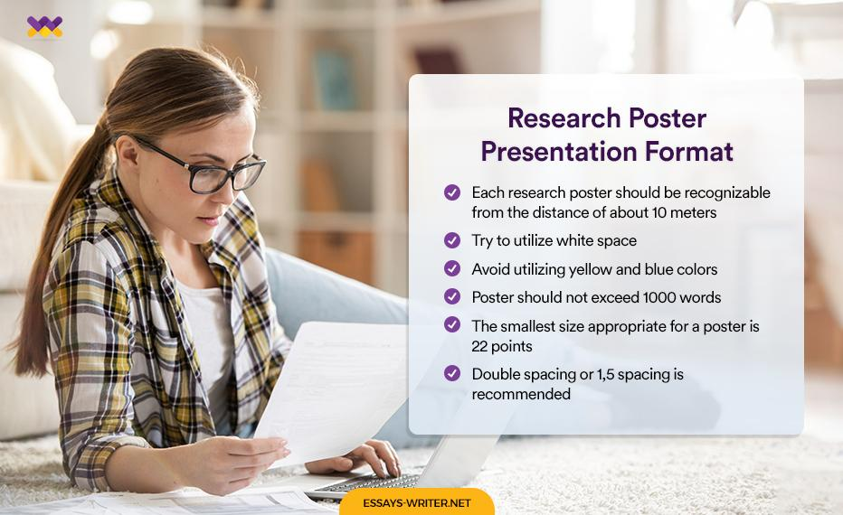Research Poster Presentation Format