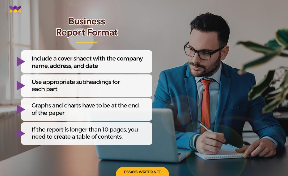 Business Report Format