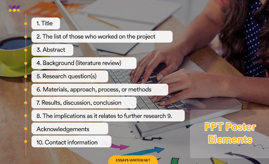 PPT Poster Elements