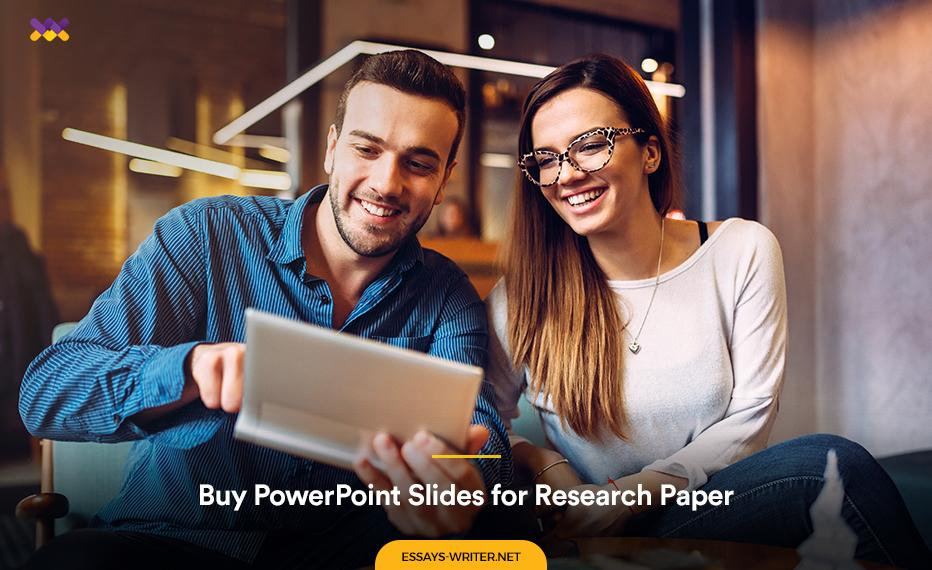 Buy PowerPoint Slides for Research Paper