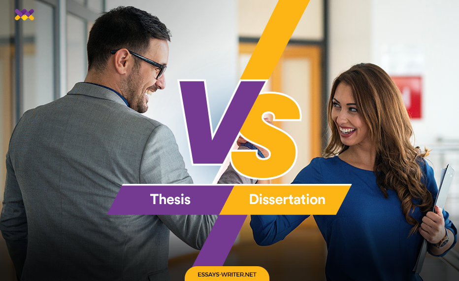 Thesis VS Dissertation