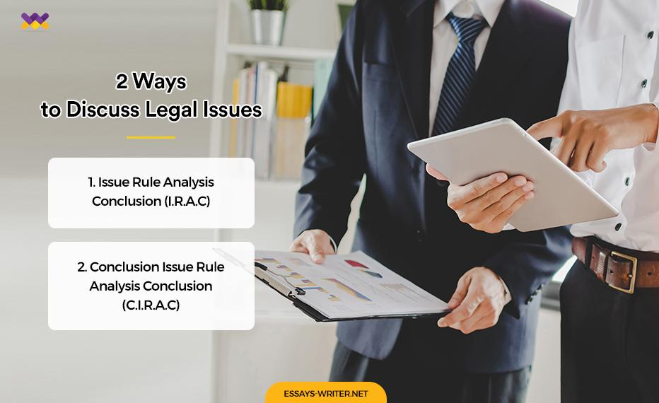 2 Ways to Discuss Legal Issues