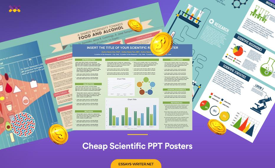 Cheap Scientific PPT Posters