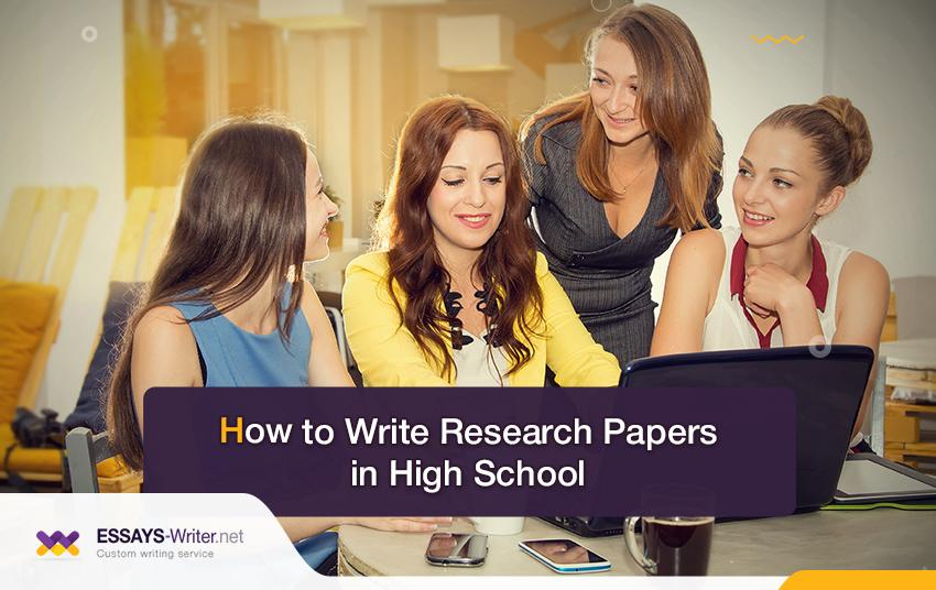 How to Write Research Papers for High School