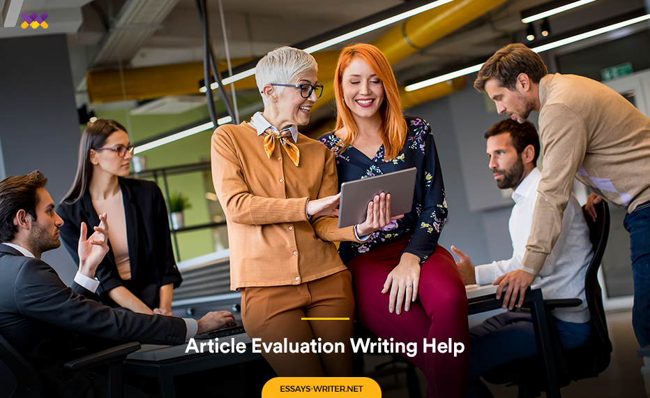 Cheap Article Evaluation Writing Help Online