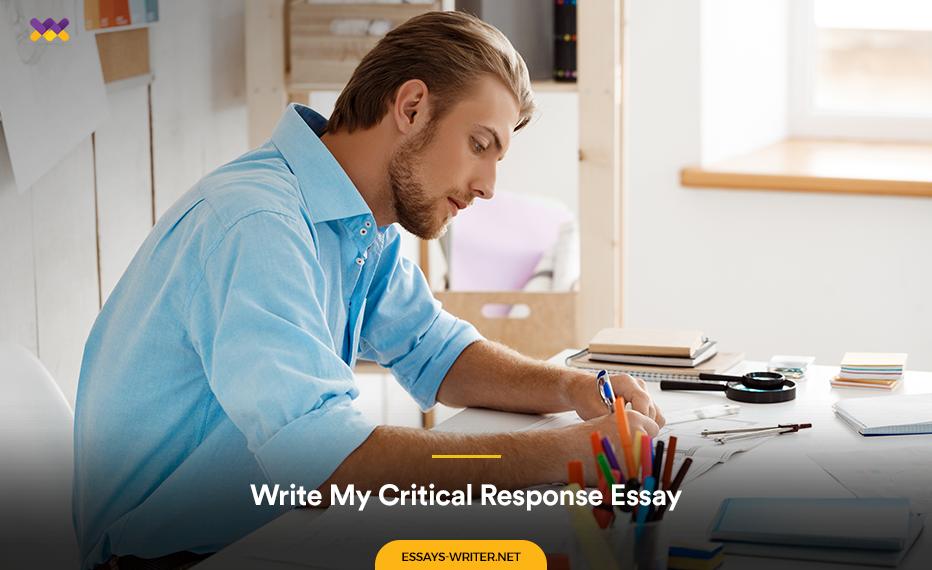 Write My Critical Response Essay