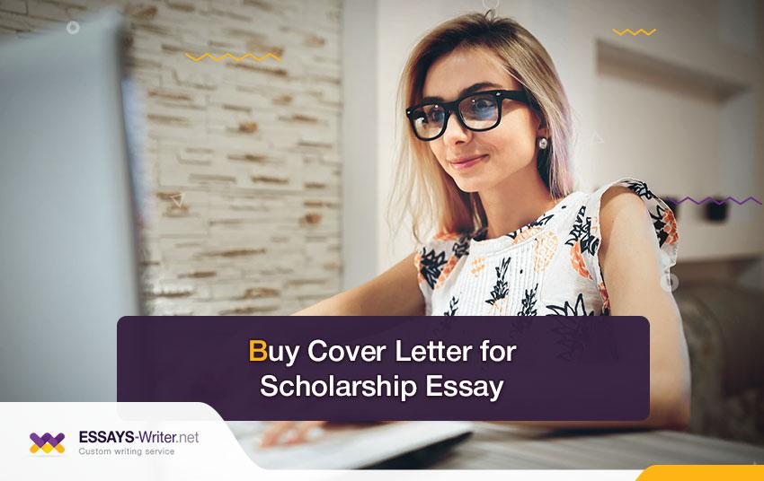 Buy a Cover Letter for the Scholarship