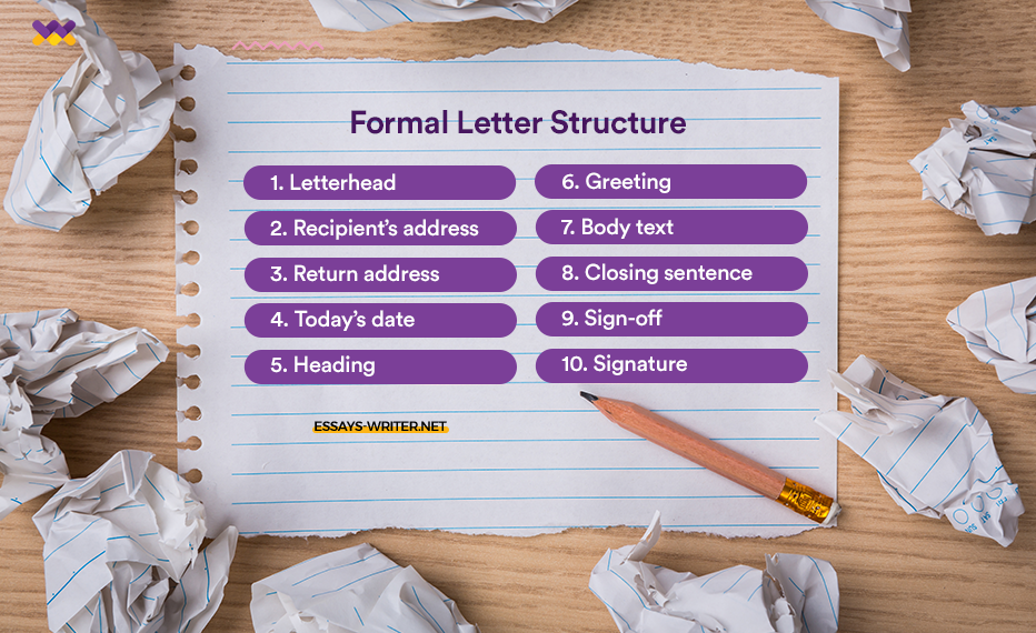 Formal Letter Structure