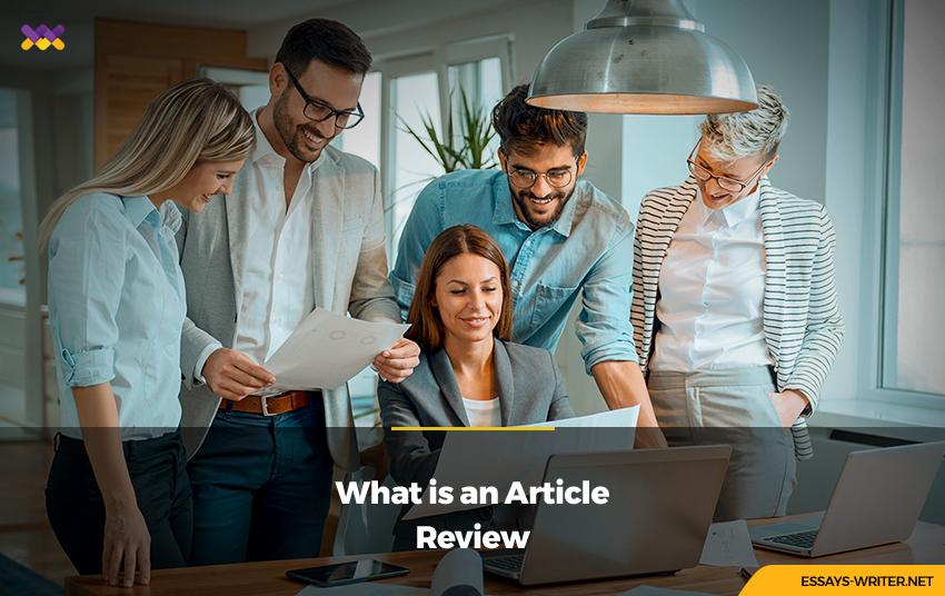 What is an Article Review